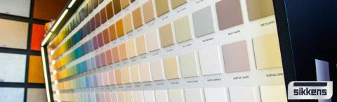 Decorazione d'interni e studio del colore